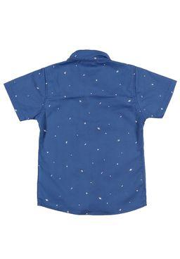 Camisa-Manga-Curta-Infantil-Para-Menino---Azul
