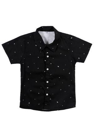 Camisa-Manga-Curta-Infantil-Para-Menino---Preto