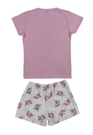 Pijama-Curto-Juvenil-Para-Menina---Rosa-off-White-16