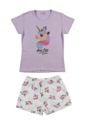 Pijama-Curto-Juvenil-Para-Menina---Lilas-off-White-16