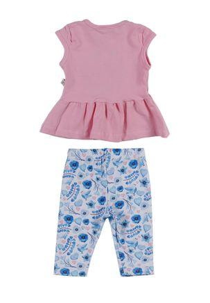 Conjunto-Infantil-Para-Bebe-Menina---Rosa-azul-M
