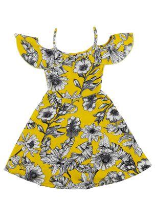 Vestido-Juvenil-Para-Menina---Amarelo-16