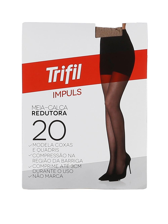 d3bccfce8 Meia-Calça Feminina Trifil Mel - Lojas Pompeia
