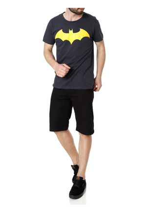 Camiseta-Manga-Curta-Masculina-Batman-Cinza-P