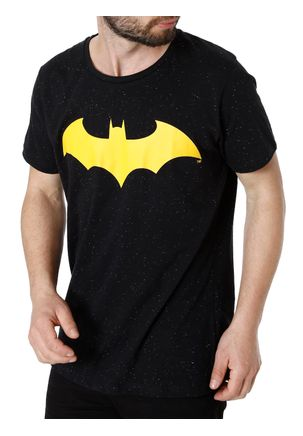 Camiseta-Manga-Curta-Masculina-Batman-Preto-P