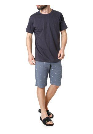 Camiseta-Manga-Curta-Masculina-Dixie-Cinza