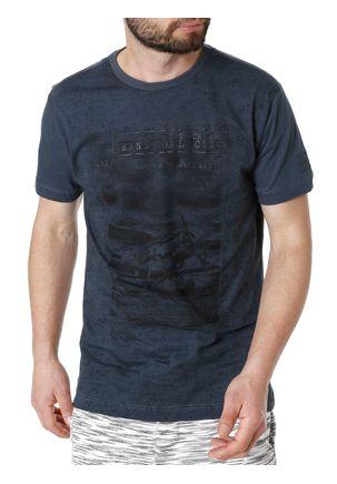 Camiseta-Manga-Curta-Dixie-Bege