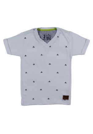 Camiseta-Manga-Curta-Infantil-Para-Menino---Branco-1