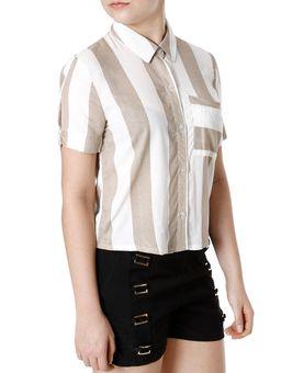 Camisa-Manga-Curta-Feminina-Autentique-Bege-off-White-P