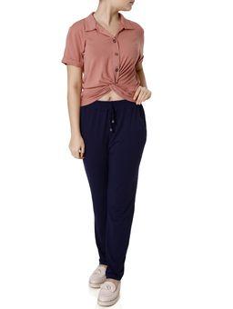 Camisa-Manga-Curta-Feminina-Autentique-Rose-P