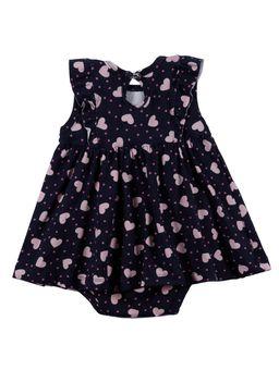 Vestido-Infantil-Para-Bebe-Menina---Azul-Marinho-M