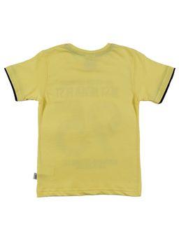 Camiseta-Manga-Curta-Infantil-Para-Menino-Amarelo-6