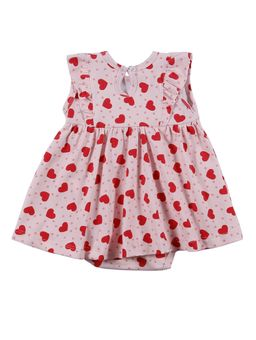Vestido-Infantil-Para-Bebe-Menina---Rosa-M