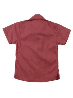 Camisa-Manga-Curta-Infantil-Para-Menino---Vermelho