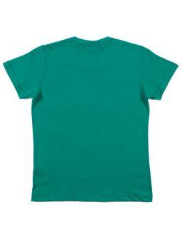 Camiseta-Manga-Curta-Infantil-Disney-Verde