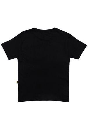 Camiseta-Manga-Curta-Batman-Infantil-Para-Menino---Preto
