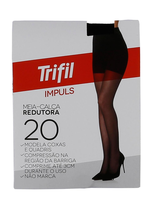 cf02a63d7 Meia-Calça Feminina Trifil Preto - Lojas Pompeia