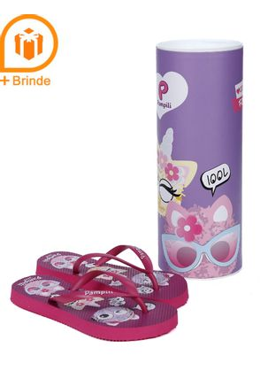 Chinelo-Infantil-Para-Menina---Rosa-Pink-25-26