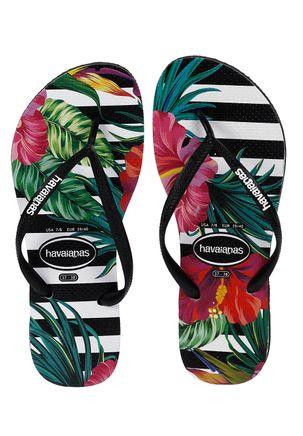 Chinelo-Feminino-Havaianas-Slim-Floral-Preto-reativo