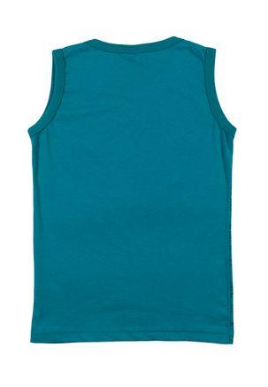Camiseta-Regata-Infantil-Para-Menino---Verde-6