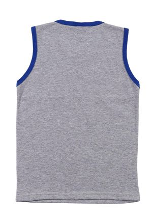 Camiseta-Regata-Infantil-Para-Menino---Azul-cinza-6