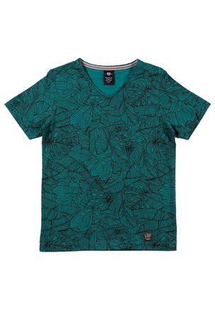 Camiseta-Manga-Curta-Juvenil-Para-Menino---Verde-16