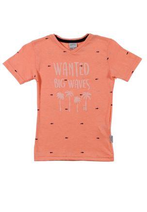 Camiseta-Manga-Curta-Infantil-para-Menino---Laranja