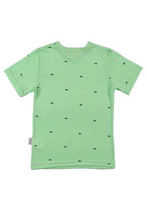 Camiseta-Manga-Curta-Infantil-para-Menino---Verde