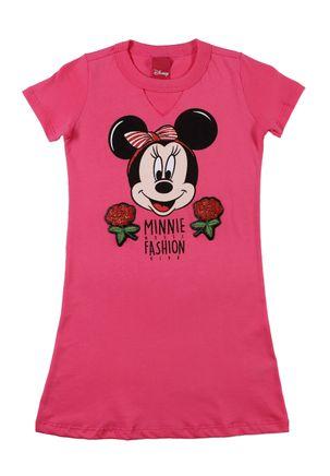 Vestido-Disney-Infantil-Para-Menina---Rosa-6