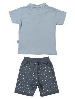 Conjunto-Infantil-Para-Bebe-Menino---Azul-cinza-M
