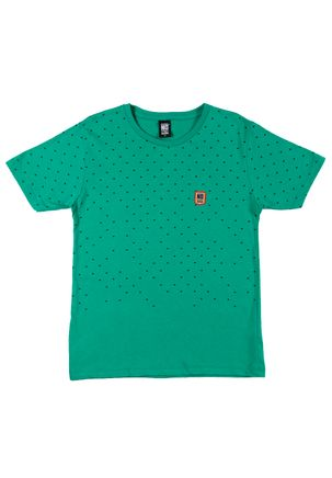 Camiseta-Manga-Curta-No-Stress-Juvenil-Para-Menino---Verde-16