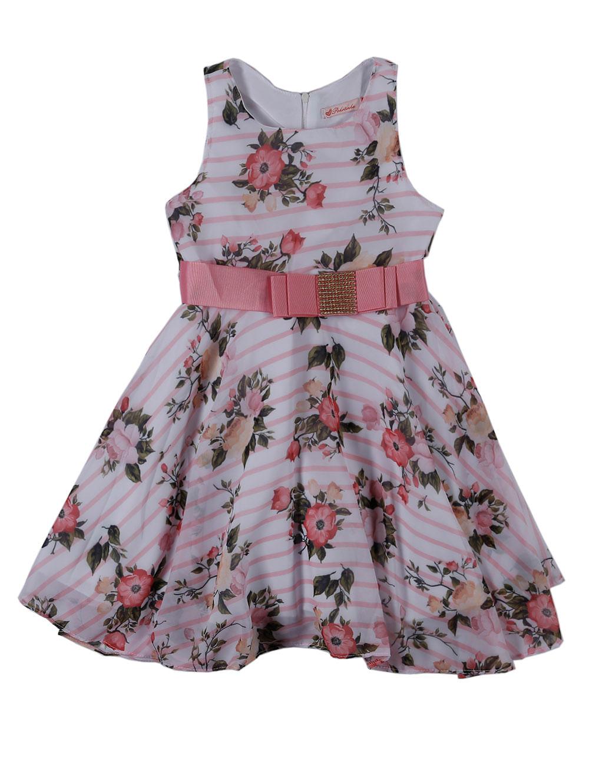 97b4590e2cc1fa Vestido Infantil Para Menina - Rosa