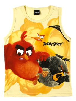 Camiseta-Regata-Angry-Birds-Infantil-para-Menino---Amarelo