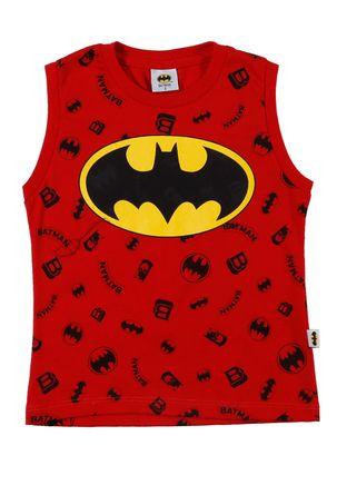 Camiseta-Regata-Batman-Infantil-Para-Menino---Vermelho-1
