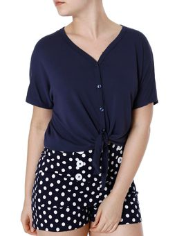 Camisa-Feminina-Autentique-Azul-P