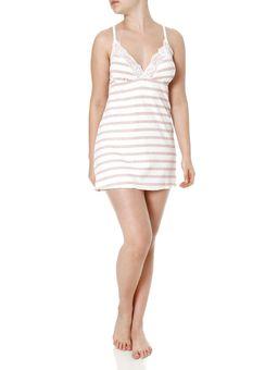 Camisola-Feminina-com-Calcinha-Off-White-rosa-P