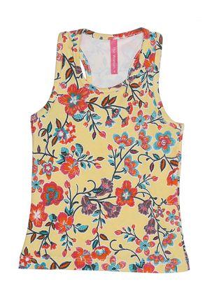Blusa-Regata-Infantil-Para-Menina---Amarelo-6