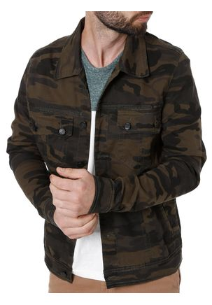 Jaqueta-Jeans-Masculina-Bivik-Verde-Militar-P
