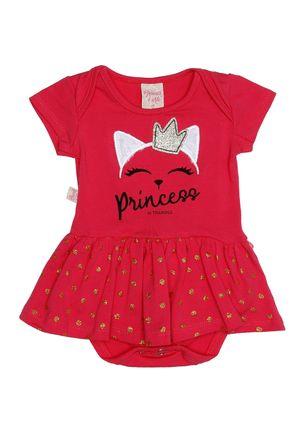 Vestido-Infantil-Para-Bebe-Menina---Rosa-Pink-P