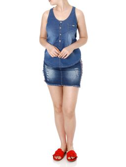 Blusa-Regata-Jeans-Feminina-Azul-P