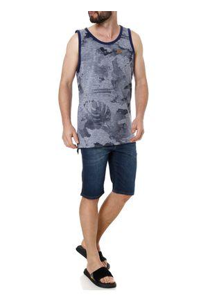 Camiseta-Regata-Alongada-Masculina-Gangster-Azul