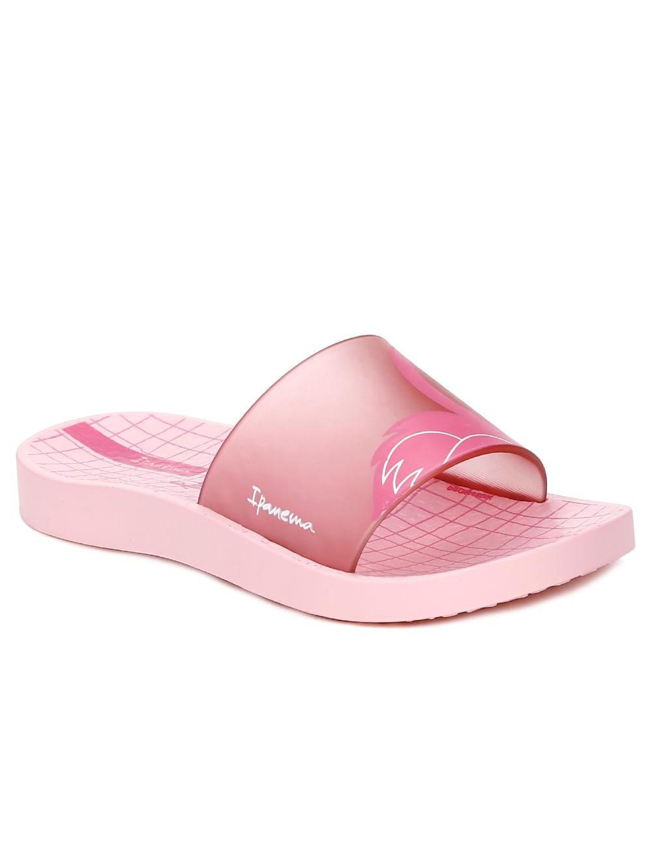 lo último 47f47 4baf8 Chinelo Slide Ipanema Infantil Para Menina - Rosa