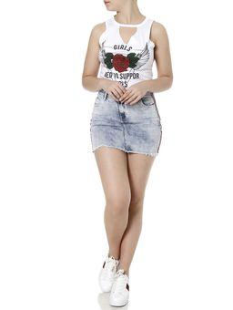 Saia-Curta-Jeans-Feminina-Zune-Azul-36