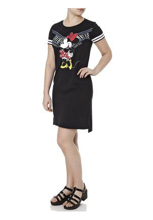 Vestido-Feminino-Disney-Preto-P