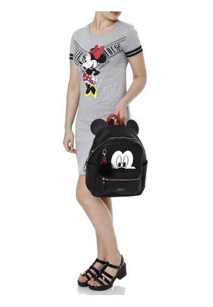 Vestido-Feminino-Disney-Cinza-P