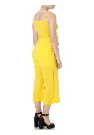 Macacao-Pantacourt-Feminino-Amarelo-P
