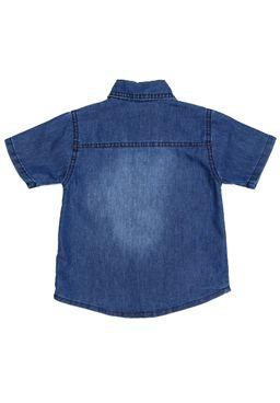 Camisa-Jeans-Manga-Curta-Infantil-Para-Menino---Azul-1