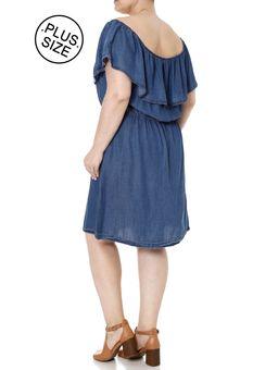 Vestido-Jeans-Plus-Size-Feminino-Azul-EXG