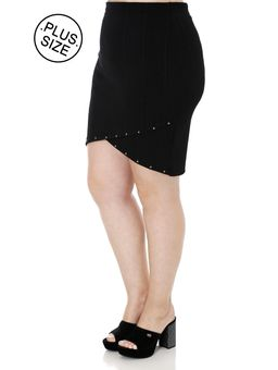 Saia-Media-Plus-Size-Feminina-Autentique-Preto-G2