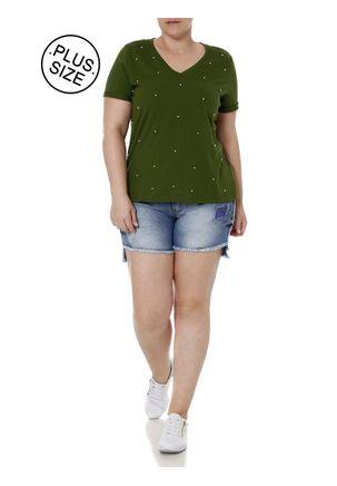 Blusa-Manga-Curta-Plus-Size-Feminina-Cativa-Verde-EG
